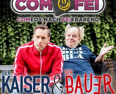 COMFEI - Comedy nach Feierabend am 26.3.2019 bei T-Shirt-Drucker.de